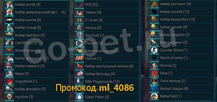 Линия на киберспорт в бк Melbet