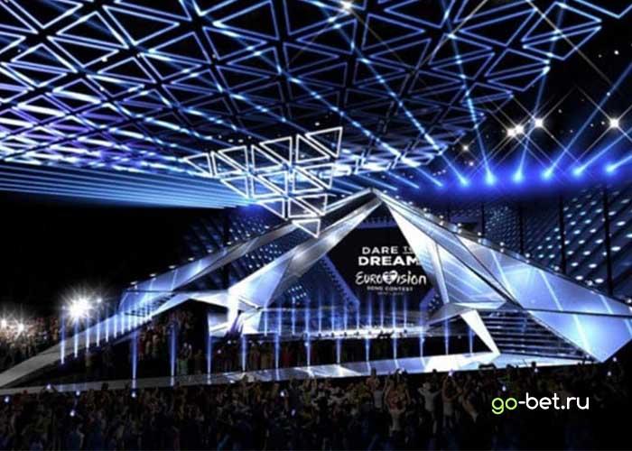 Сцена для Евровидения 2019